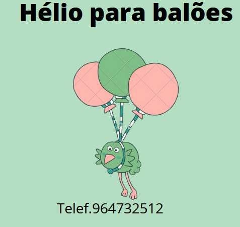 hélio para balões