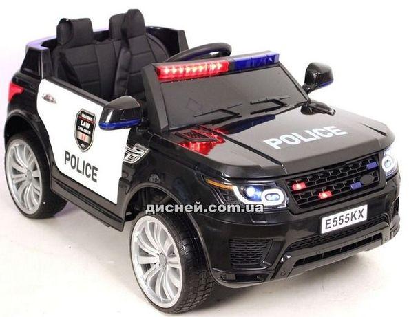 Детский электромобиль M 2775 EBLR-1-2 черно-белый, Дитячий електромобi
