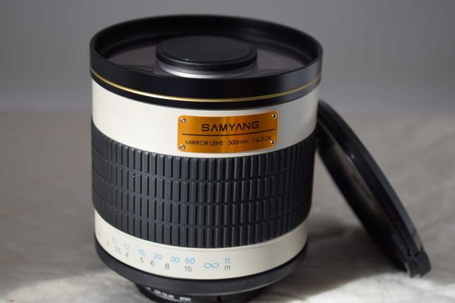 Samyang  Mirror 500 f/6.3  anel T2 Nikon