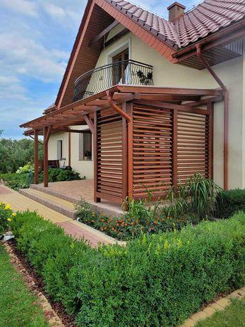 Pergole, altany, zadaszenia tarasów, meble ogrodowe