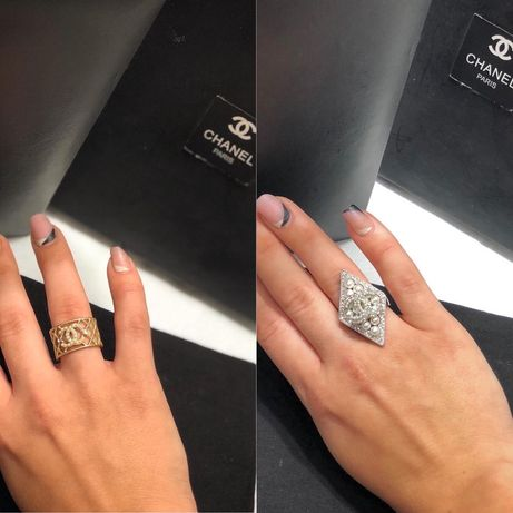 Шикарное кольцо Chanel (оригинал )