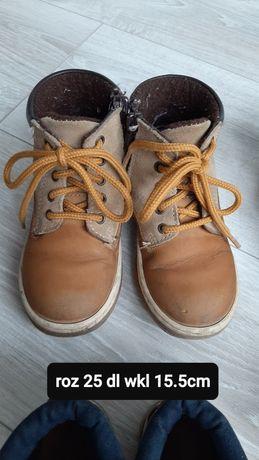 Buty zimowe 25 dl wkładki 15.5cm