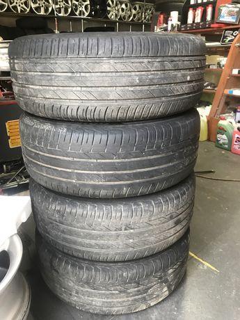 Bridgestone 225 55 17 97w 2015 5-6 mm літо резина шини покришки