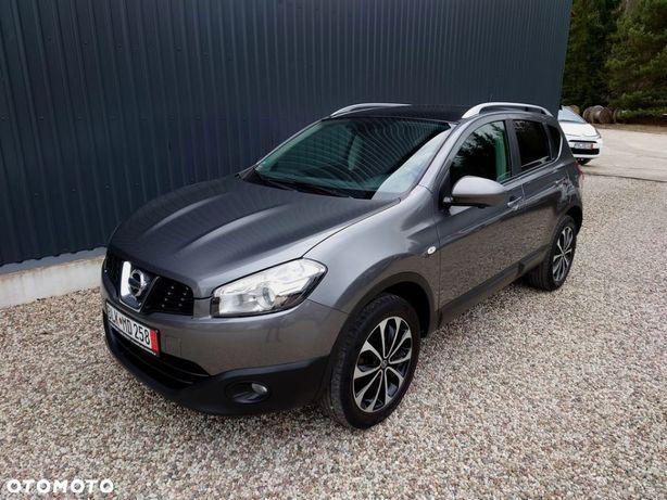 Nissan Qashqai Piękny Bogaty 2.0 Benz. Kamery 360 Relingi Bardzo zadbany Jak nowy