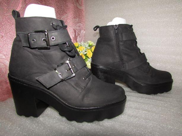 Office London ~Шикарные ботинки полностью кожа~ИСПАНИЯ р 40