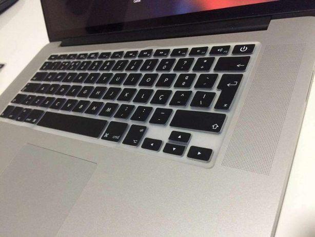 Protecção de teclado MacBook Pro 13 15 17, Retina, Air