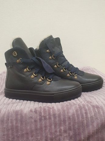 Новые теплые кожаные ботинки Ralf Ringer для девочки