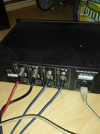 Wzmiacniacz audio, końcówka mocy STAGE LINE, STA-1504