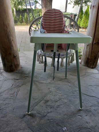Krzesełko do karmienia Ikea.