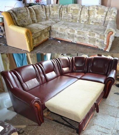 Ремонт и зготовление мягкой мебели! обивка, перетяжка, реставрация.