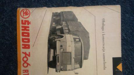 Skoda 706 RT instrukcja obsługi