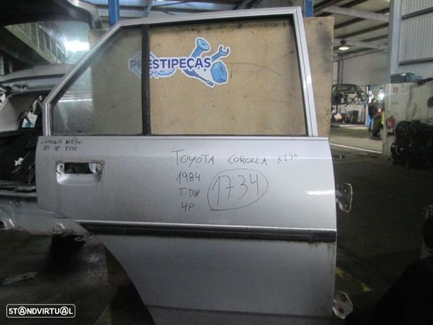 Porta POR1734 TOYOTA / COROLLA KE70 / 1984 / CINZA / TD / 4P /
