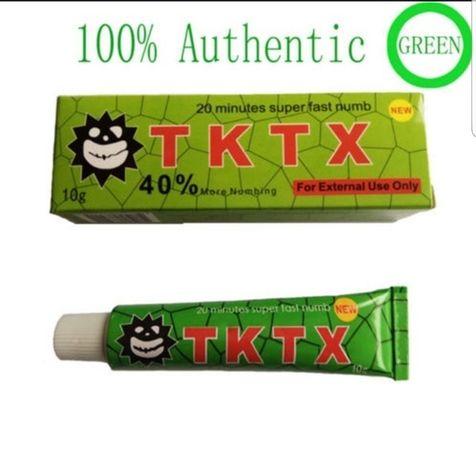 TKTX anestesiante pra tattoo
