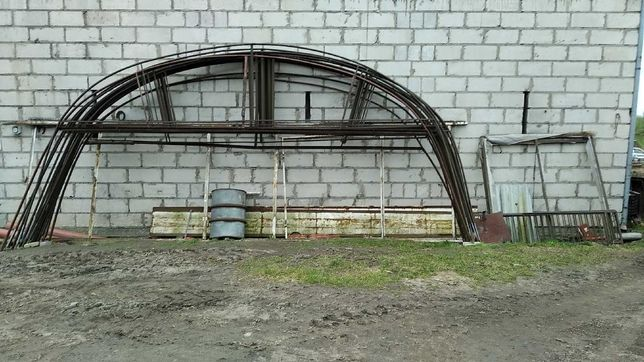Konstrukcja folii - skręcana 32m x 7m x 3m