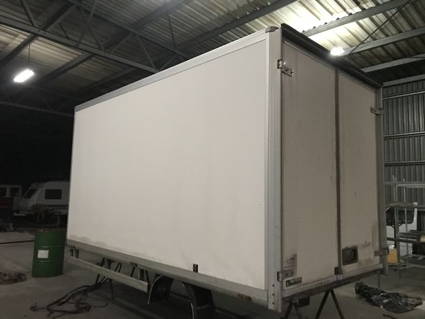 Kontener 4 m  + komora chłodnicza agregat euro frigo