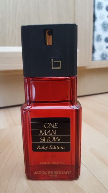Tester Jacques Bogart One Man Show Ruby Edition EDT