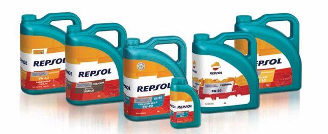 Моторное масло REPSOL 10W-40, 5W-40, 5W-30, 5W-20...