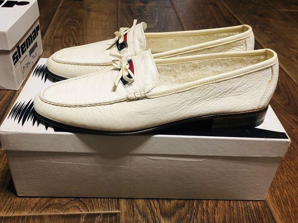 Moreschi мужские туфли лофтеры 42,5р 7,5UK 8,5US 27,5см кожа