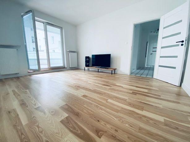 Bezpośrednio piękny apartament 50m2 z 2020r. przy metrze + duży taras!