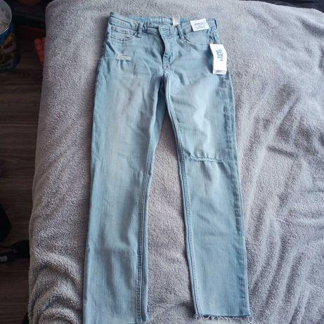 Spodnie jeans rozmiar 158