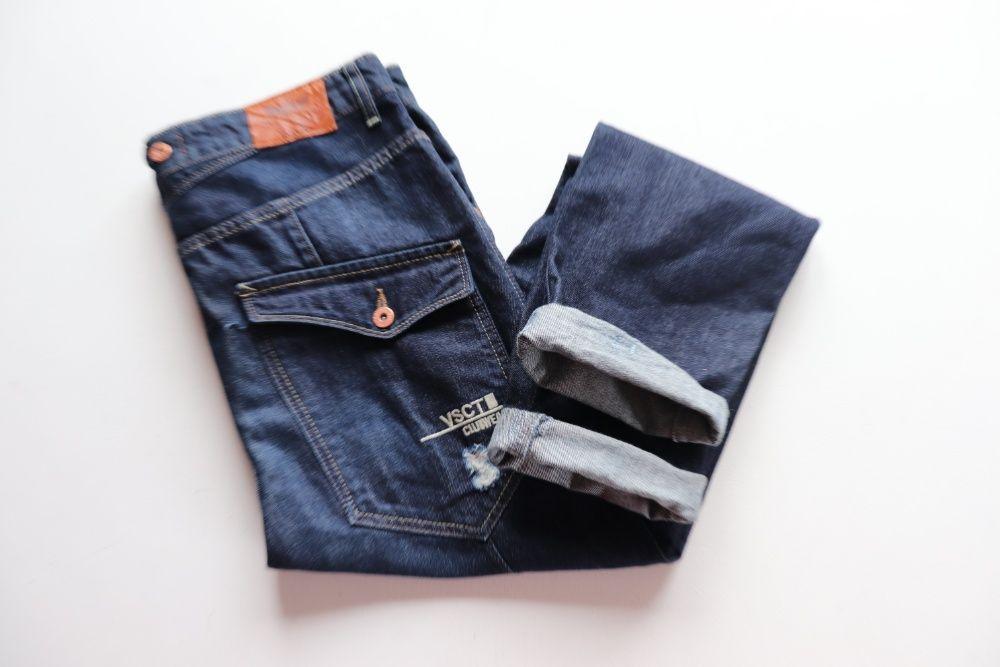 Spodnie męskie VSCT Jeans z dziurami i obniżonym krokiem. W34 L34