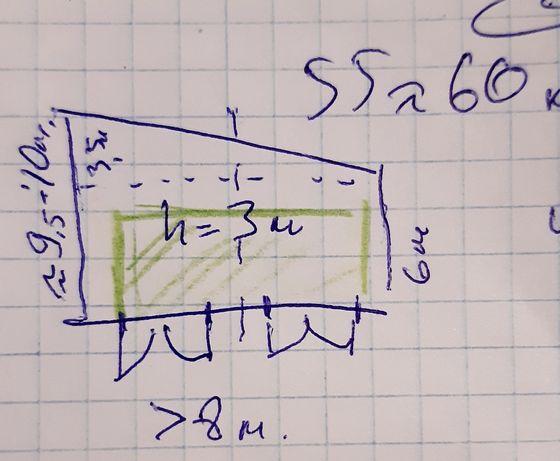 Гараж 60м² (>3,5м выс), Подвал 30м², Водопроводная,Кооператив, под СТО