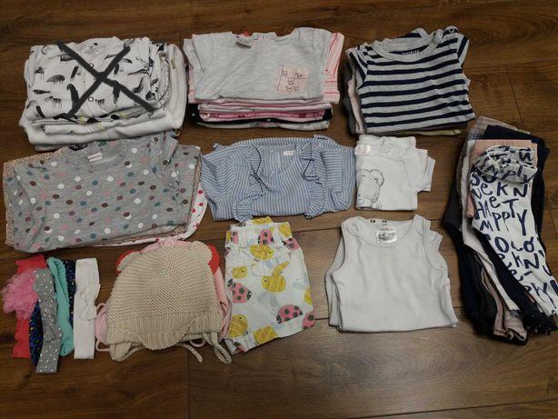 Paka ubranka 68, spodnie, legi, body, sukienki, bluzki, czapki