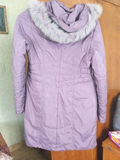 Куртка плащ зимовий