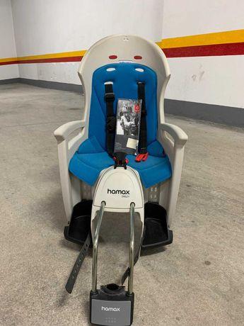 Cadeira Porta-Criança Bicicleta Hammax Smiley
