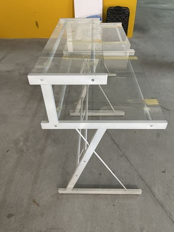 Secretaria de aluminio e vidro