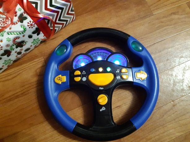 Интерактивный детский руль Limo Toy