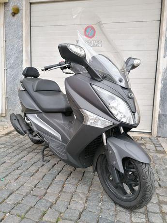 SYM GTS 125cc Cinza mate