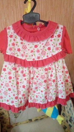 Набор платье+ футболочка