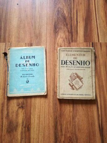 Manuais de Desenho Antigos (1943 e 1946)