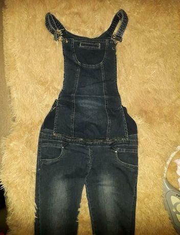 Продаю джинсовий комбінізон для вагітних