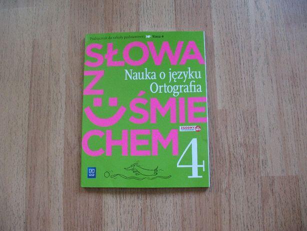 Język polski 4. Słowa z uśmiechem. Nauka o języku. Ortografia(KSIĄŻKA)