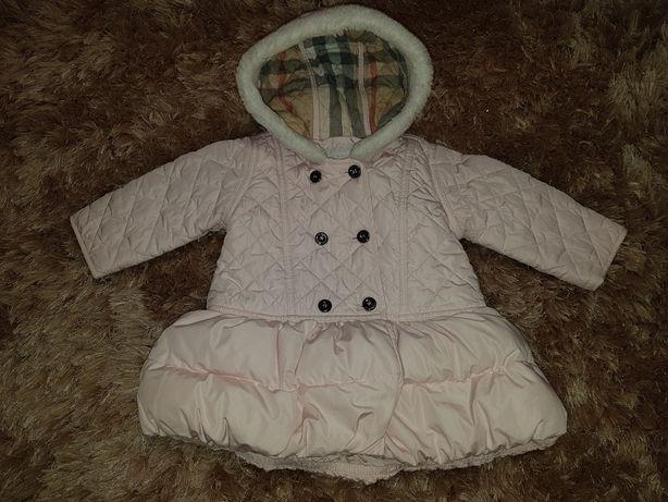 Kurteczka jesienna Burberry Baby r.74