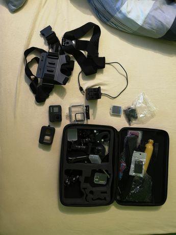 Gopro hero 8 black - kamera sportowa. Stan idealny! +akcesoria +256gb