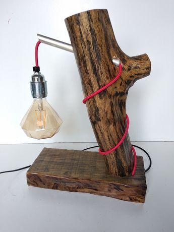 Podstawka lampka vintage