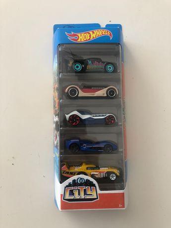 Hot Wheels City zestaw 5 samochodów