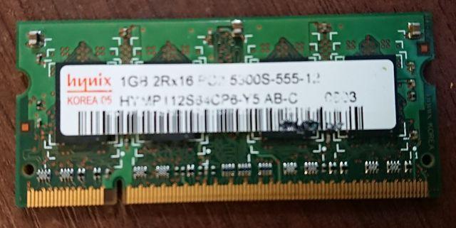 Оперативная память для ноутбука SO-DIMM DDR2  1 Gb
