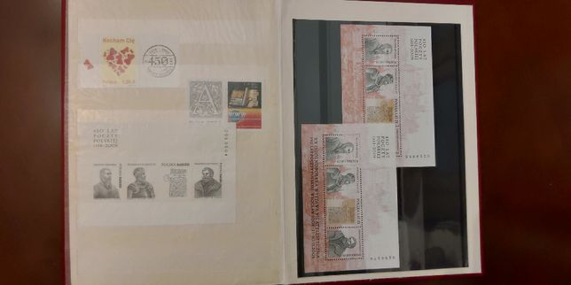 Klaser tom XXVI 2006/2007 znaczki Fischer