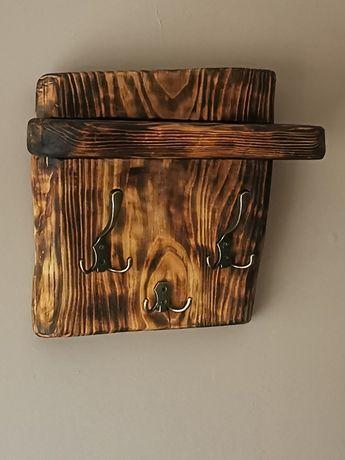 Półka - wieszak drewniany Loft Vintage ostatnia sztuka !!!