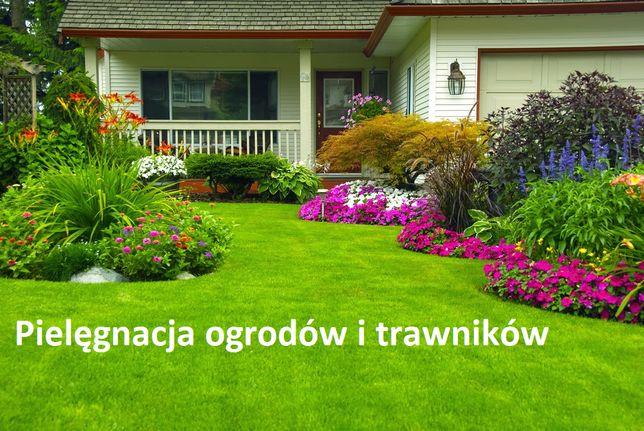 Zakładanie, pielęgnacja ogrodów i trawników