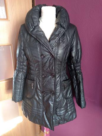 Jak skóra zimowa woskowana kurtka talia