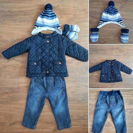 Весенняя курточка (комплект-куртка, джинсы, шапочка)