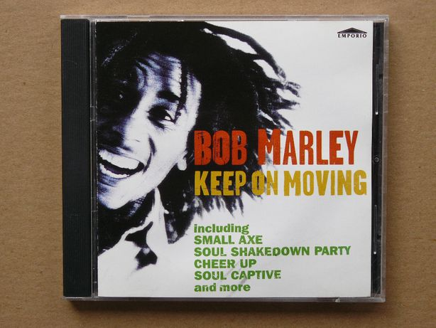 cd Bob Marley - Keep on Moving 1996 wyd.UK
