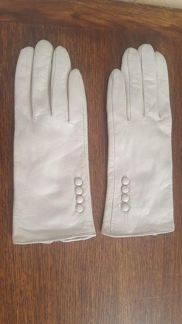 Rękawiczki beżowe