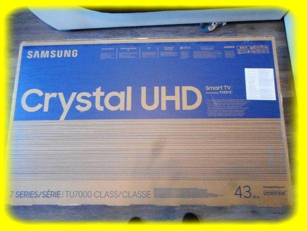 Okazja!Nowy fabrycznie zapakowany Telewizor Samsung 43 cale 4K SmartTV