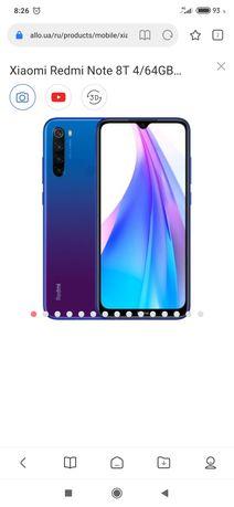 Xiaomi redmi not 8t с nfc